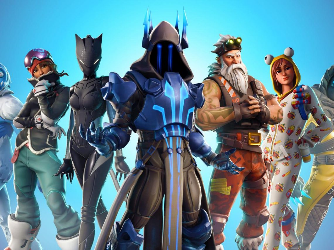 "Fortnite Skins Are Being""Raffled"" On eBay"