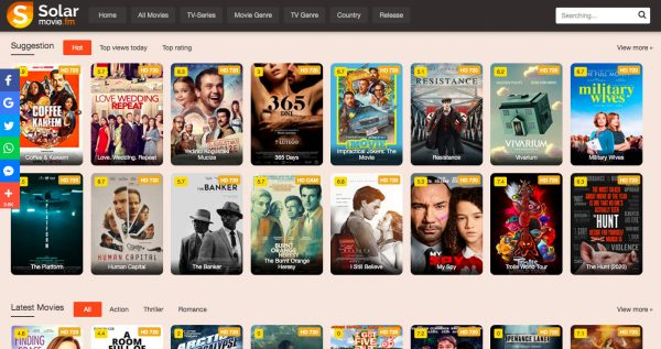 What are the types of movies accessible on vexmovies site?