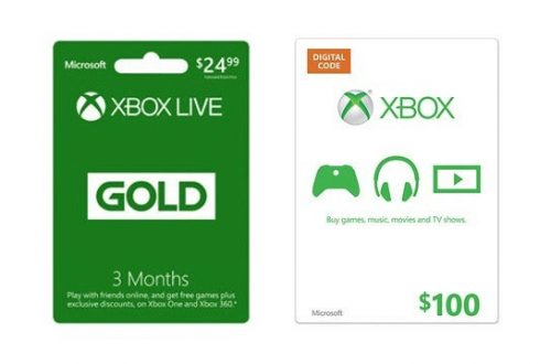 Xbox Present Cards Along With Love The Way Exactly The Same